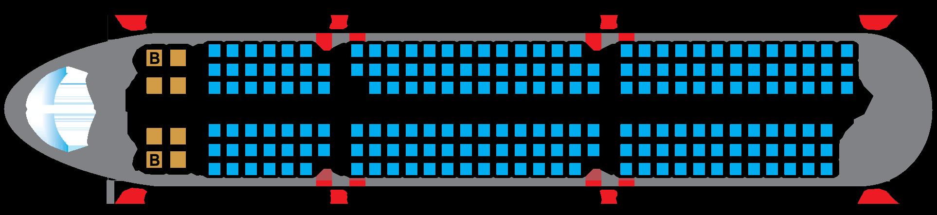 sơ đồ ghế ngồi trên máy bay vietnam airlines