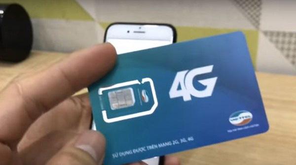 đổi sim 4G Viettel ngay tại nhà đơn giản