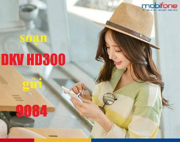 Gói cước HD300 Mobifone