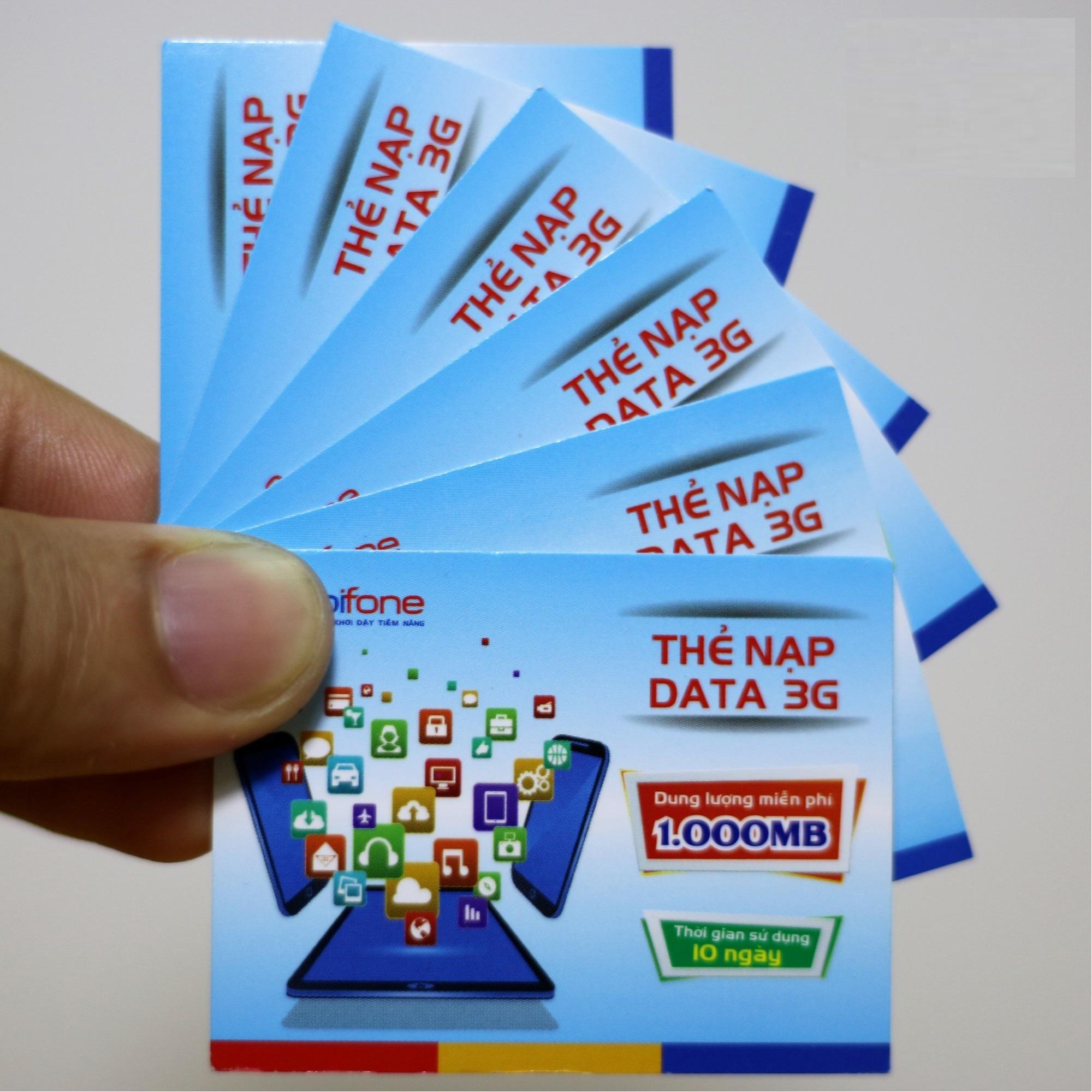 thẻ 3g mobifone