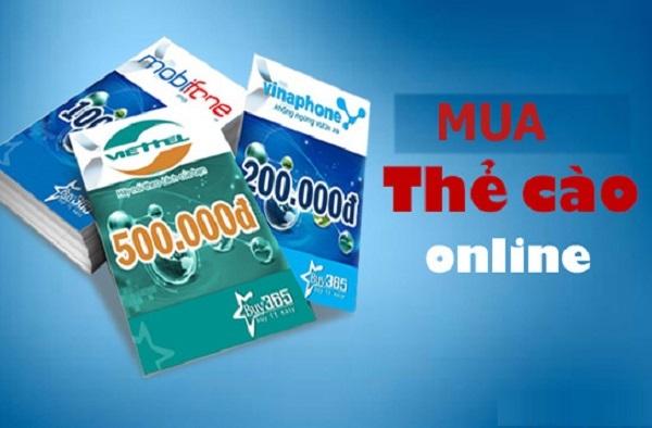 Mua card Viettel, Mobi, Vina online