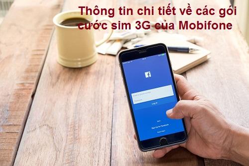 Thông tin chi tiết về các gói cước sim 3G của Mobifone