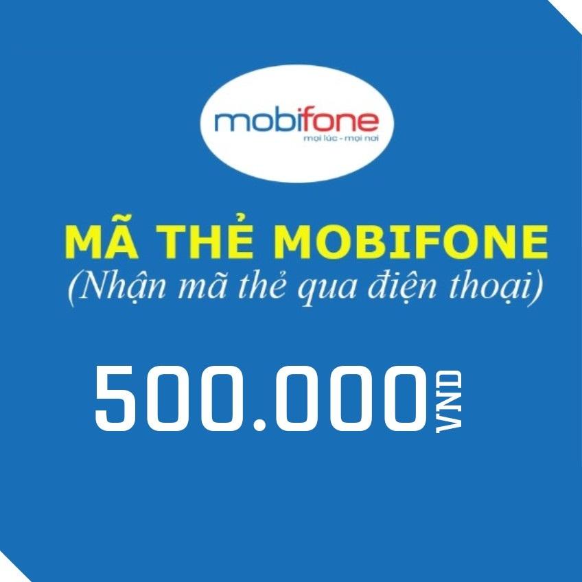 thẻ cào mobi 500k