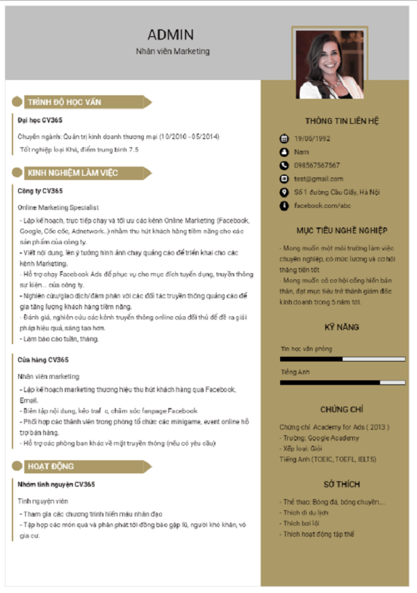 Một vài sai lầm cần tránh khi viết CV xin việc