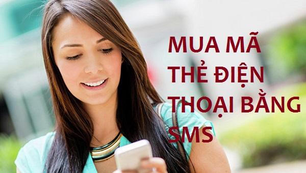 mua mã thẻ điện thoại bằng sms