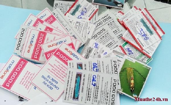 mua thẻ cào điện thoại Mobifone
