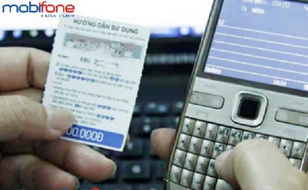 mua mã thẻ điện thoại Mobifone