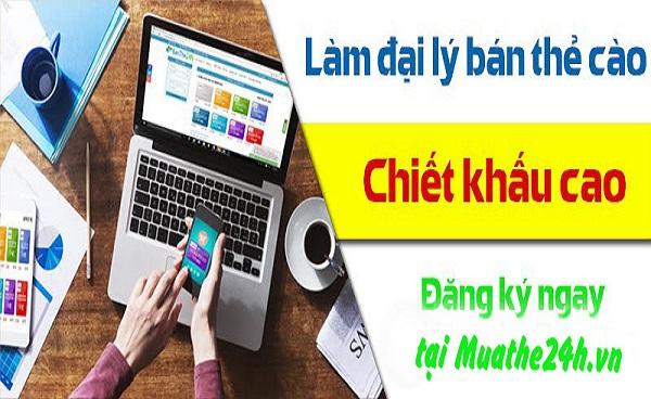 Chiết khấu mua thẻ điện thoại tại Muathe24h.vn