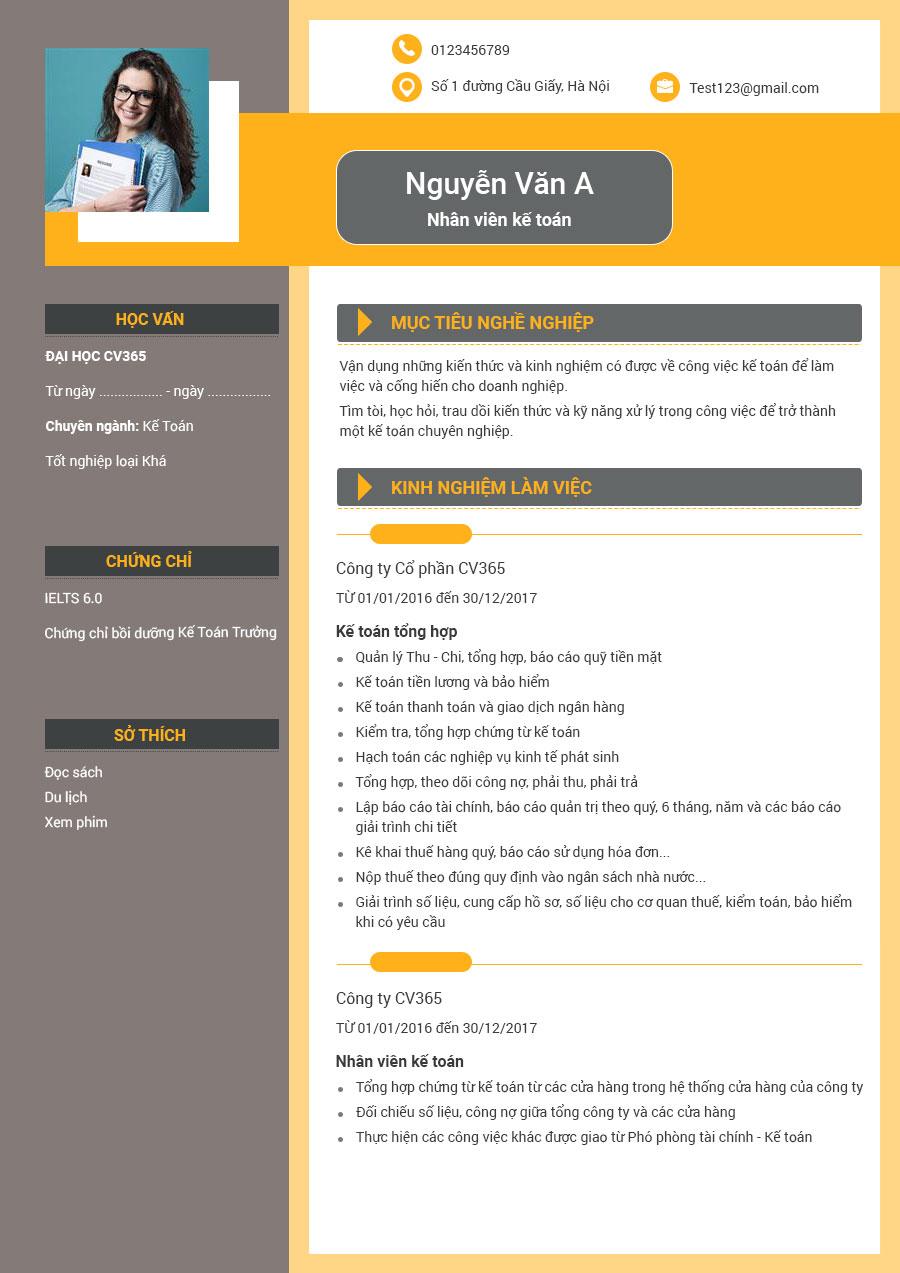 địa chỉ download mẫu cv xin việc ngành xây dựng