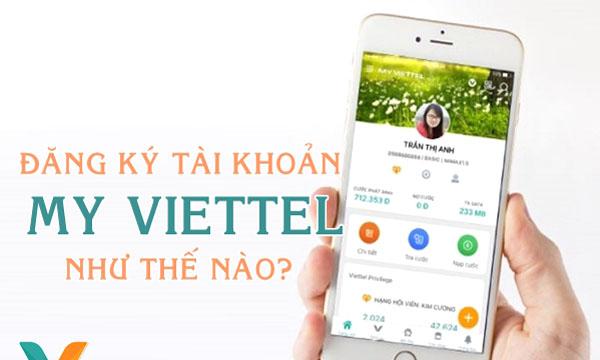 đăng ký tài khoản My Viettel