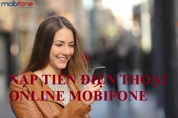 nạp tiền điện thoại online Mobifone