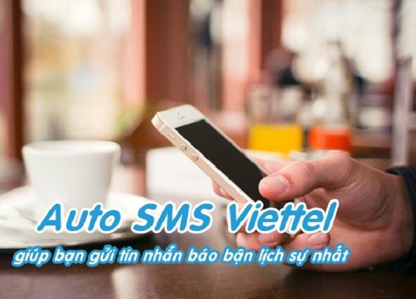 Đăng ký dịch vụ Auto SMS Viettel