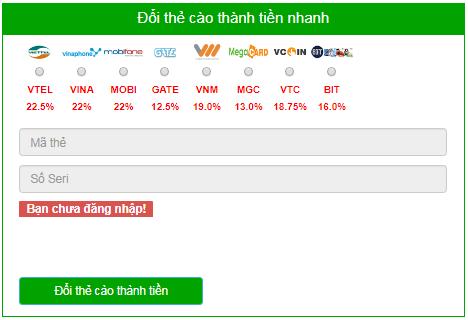 website mua thẻ cào online