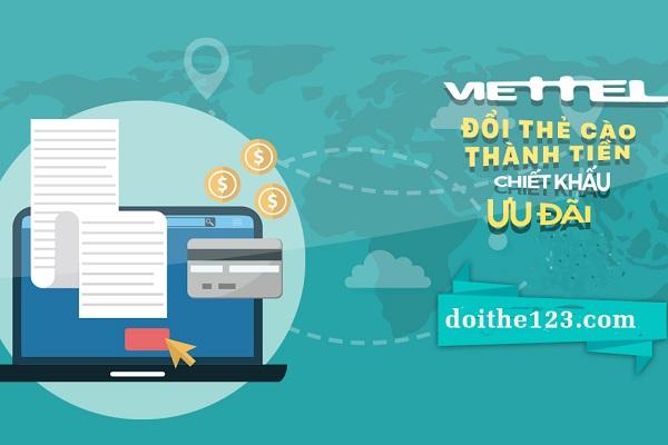 đổi thẻ Viettel thành tiền