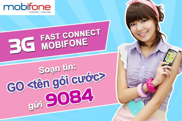 Đăng kí gói cước sim 3G của Mobifone