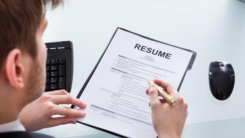 Ghi điểm bằng nội dung các mục trong CV