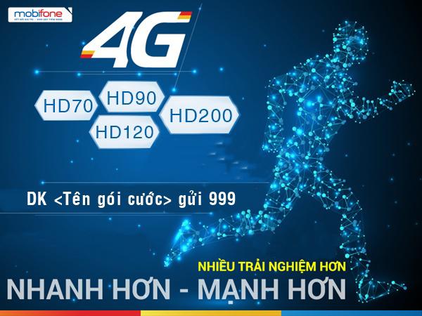 gói cước 4G mobifone
