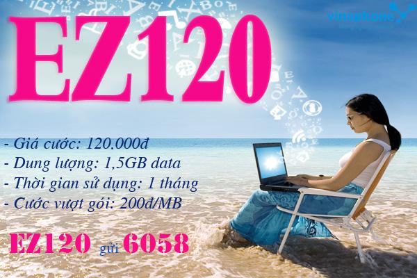 gói EZ120 vinaphone