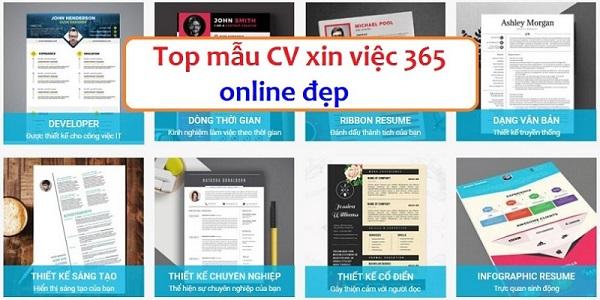 Phần mềm tạo CV số 1 Việt Nam