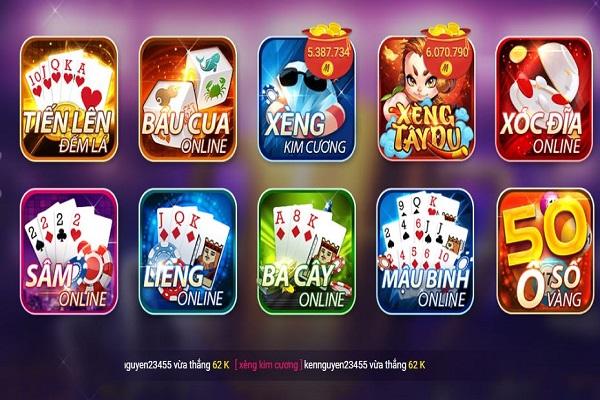 game chơi bài megawin nhiều thể loại