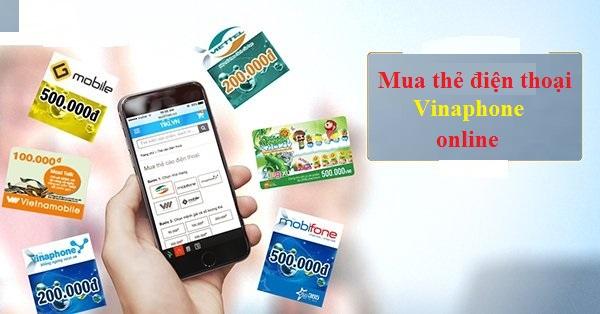mua thẻ điện thoại Vinaphone
