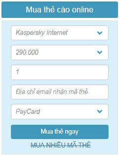 bản quyền kaspersky