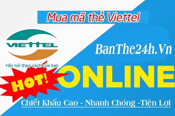 mua card Viettel trực tuyến nhanh