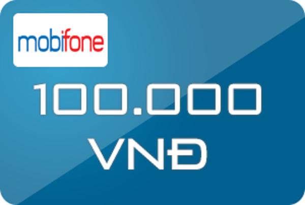 thẻ Mobifone 100k