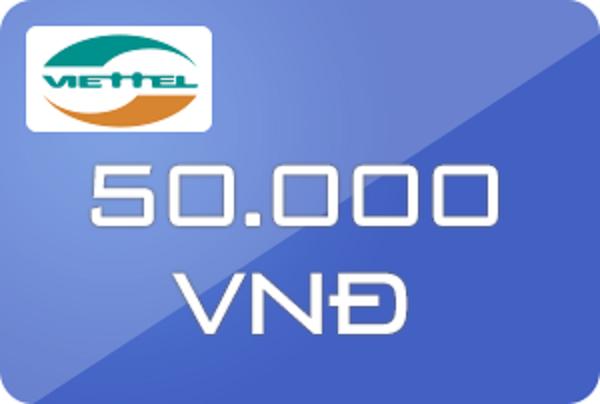 mua mã thẻ Viettel 50k đơn giản, chiết khấu cao