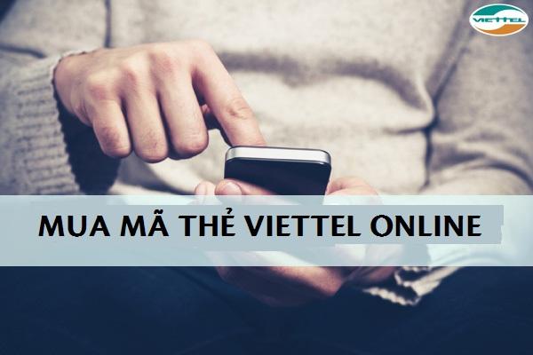 Mua thẻ cào Viettel online đơn giản