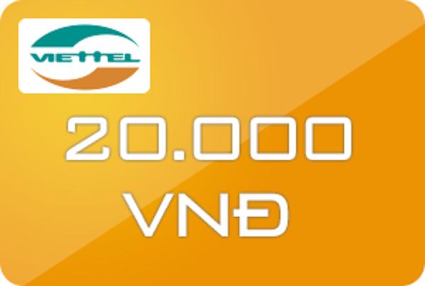 mua thẻ cào online 20.000đ