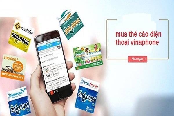 mua thẻ cào Vinaphone