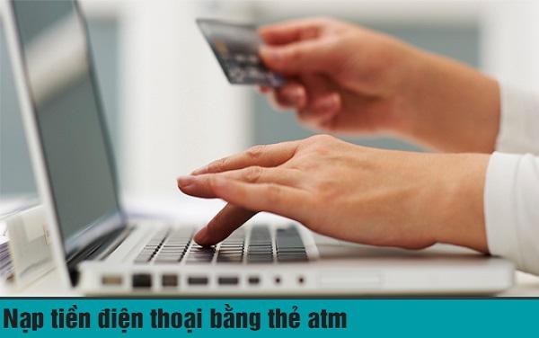 mua thẻ điện thoại chiết khấu cao bằng thẻ ATM
