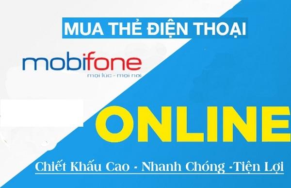 mua thẻ điện thoại online mạng Mobifone
