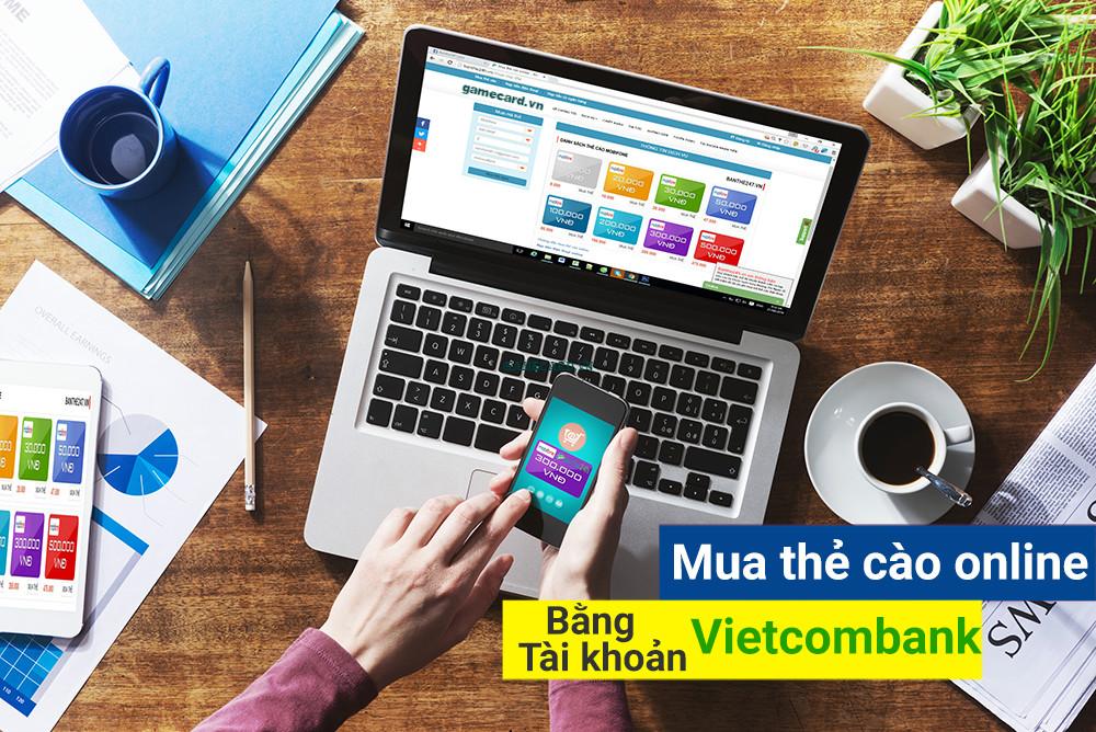 Nạp tiền điện thoại Viettel bằng tài khoản Vietcombank