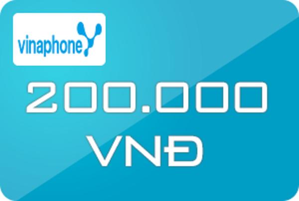mua thẻ điện thoại Vina 200k