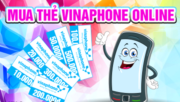 mua thẻ điện thoại Vinaphone online