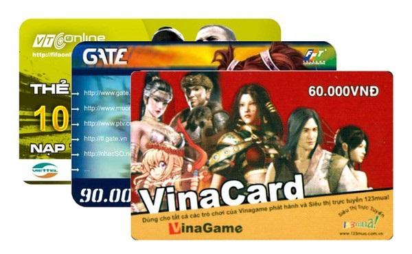 mua thẻ game