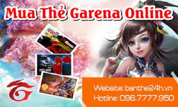 nạp thẻ Garena cho game Liên Quân mobile
