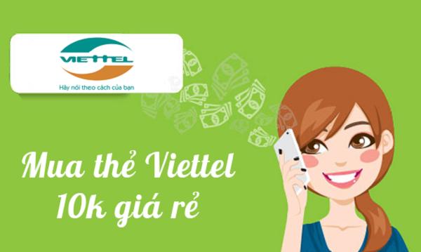 Mua card điện thoại Viettel, Mua card điện thoại