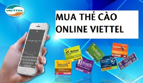 mua thẻ viettel online