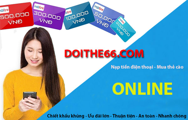 nạp tiền điện thoại online
