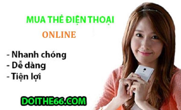 mua thẻ cào điện thoại online