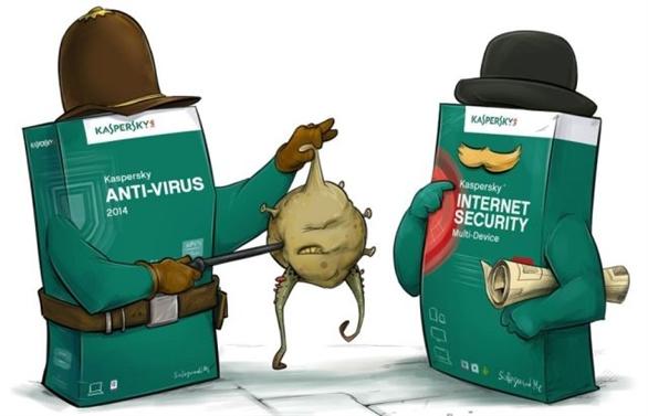cài phần mềm diệt virus kaspersky