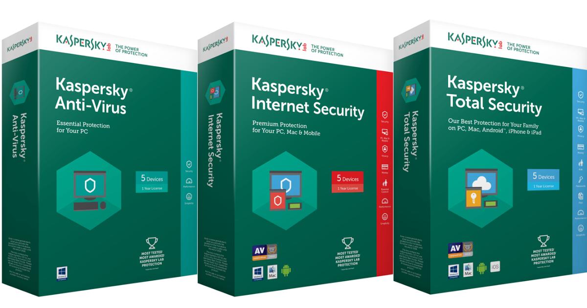 phần mềm diệt virus Kaspersky