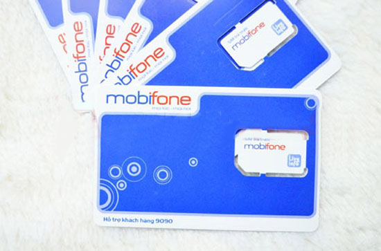 sim 3G Mobifone Fast Connect