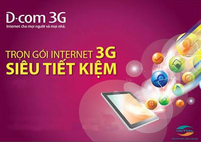 sim Dcom 3G Viettel