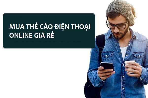 mua thẻ cào điện thoại online giá rẻ