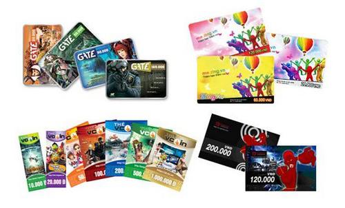 cách mua thẻ Gate online
