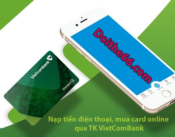 nạp tiền điện thoại bằng Vietcombank